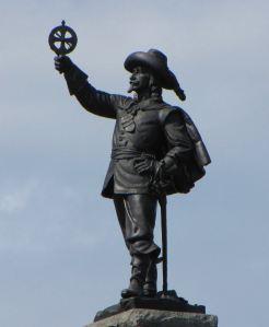 Champlain Statue, Nepean Point, Ottawa, Canada