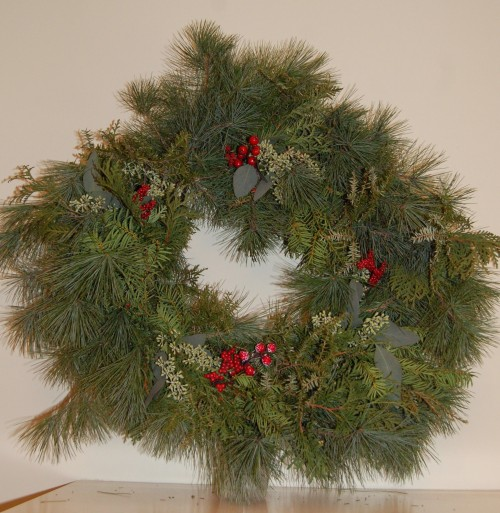 Holiday Festive Wreath