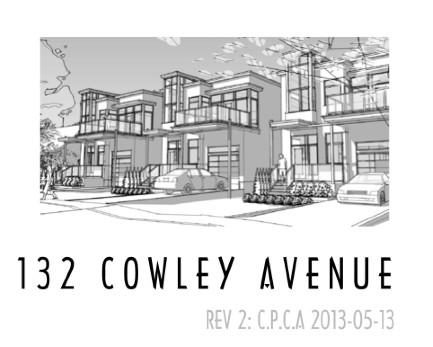 132 cowley avenue drawing
