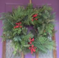 2013 Holiday Festyive Wreath Workshop