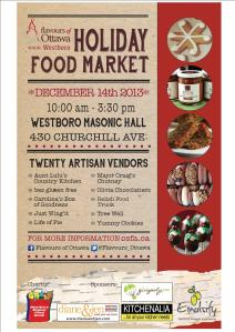 Westboro Holiday Food Market - Flavours of Ottawa