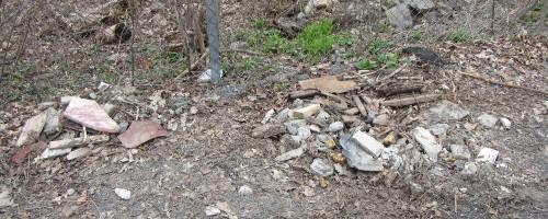 20150425_102159_AS_3005 Pile of concrete debris at Patricia and Pontiac