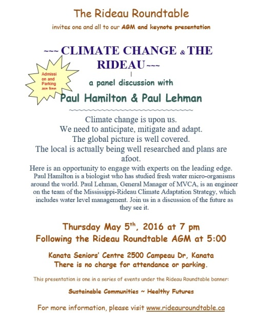 ClimateChangeOnTheRideauPoster