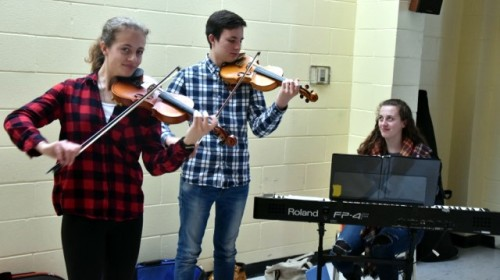 Triple Trouble provided musical entertainment, sponsored by the Champlain Park Community Association