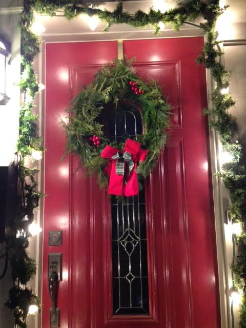 [Wreath on a Door]