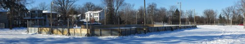 [View of the Rink on a Sunny Day]