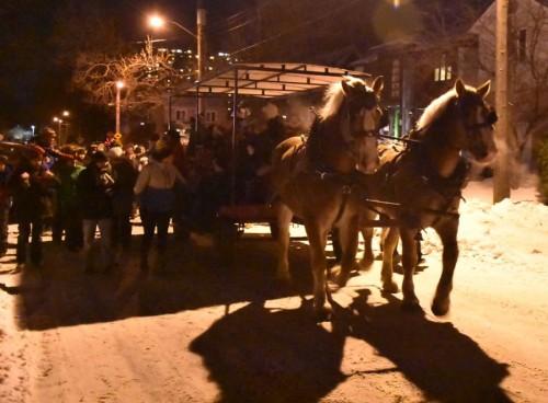 [20171221 Horse Drawn Wagon with Crowd.jpeg]