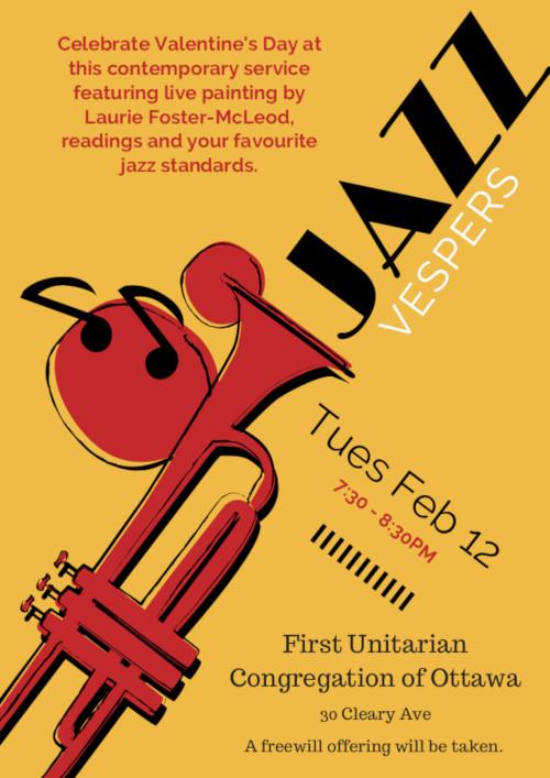 [Jazz Vespers Poster]