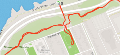 [Map of SJAM Trail in our Neighbourhood]
