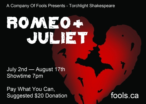 [Romeo and Juliet Postcard Front]