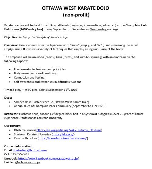 https://champlainpark org/2019/08/26/fall-session-activities