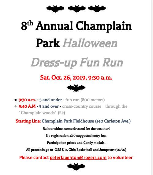 [Poster for the Fun Run]