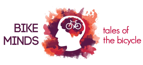 [Bike Minds logo of Head silhouette thinking about a Bicycle]