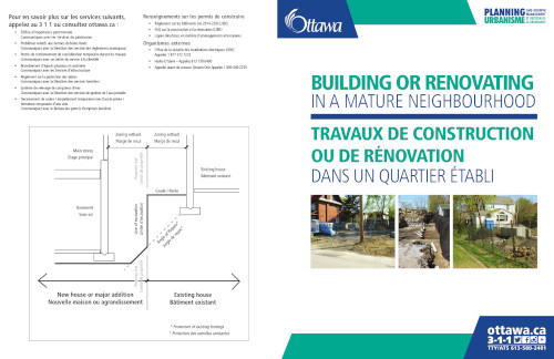 [Brochure on Building in a Mature Neighbourhood]