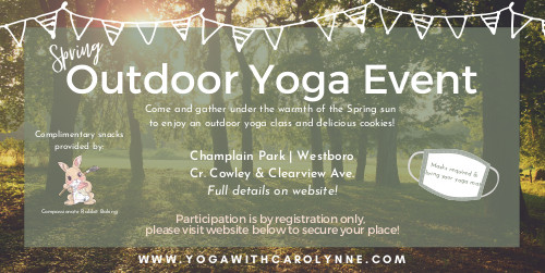 [Poster for Outdoor Yoga Event]