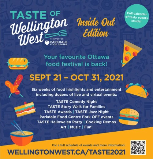 [Poster for the TASTE 2021 Event]