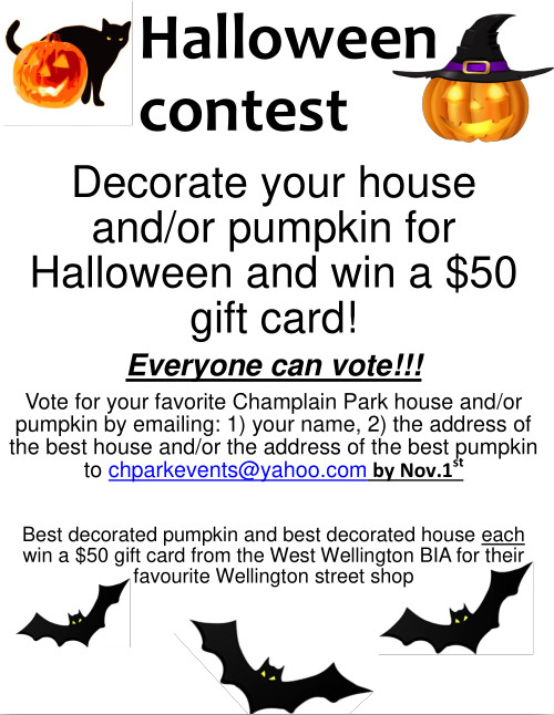 [Halloween Contest Poster]